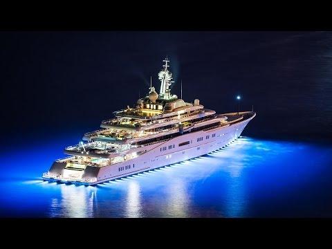 Самые красивые мега-яхты мира