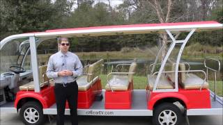 15 Passenger Electric Shuttle Tram People Mover For Sale By Bintelli Electric Vehicles