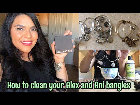 How To Clean Tarnished Alex & Ani Bangles | THIS WORKS!!!