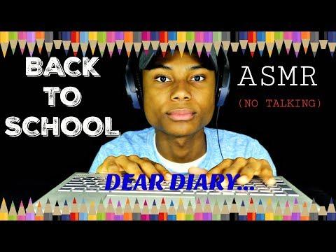 Back To School ASMR (no Talking)