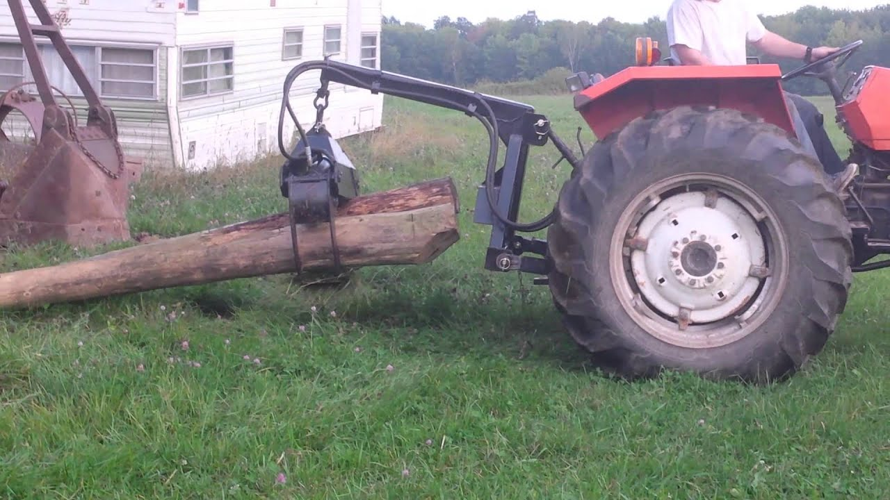 3 Point Tractor : Point tractor skidsteer log grapple doovi
