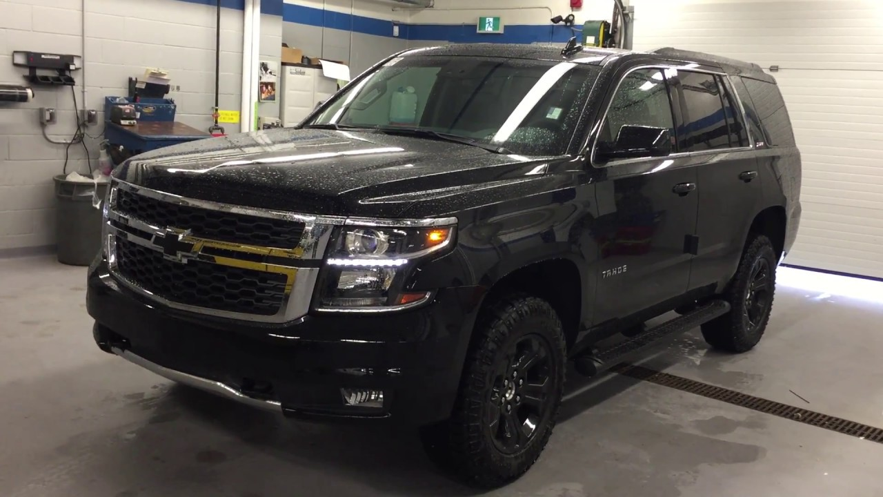 2017 Chevrolet Tahoe Lt Z71 Black Roy Nichols Motors Courtice On