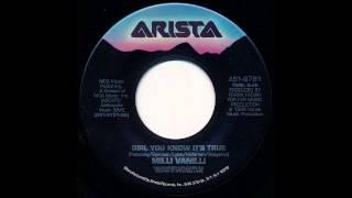 Girl You Know It's True (Single Version) - Milli Vanilli