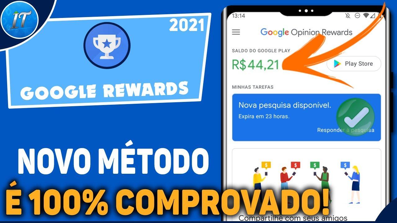 Como Receber Pesquisas No Google Rewards [Novo Método] - 2021 / Garantido!