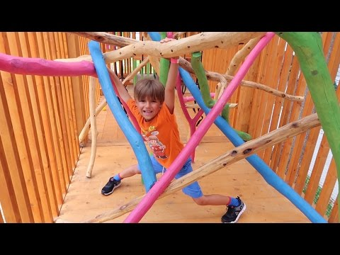 Fun Family Playground Slide, Maze and Cage - for Kids
