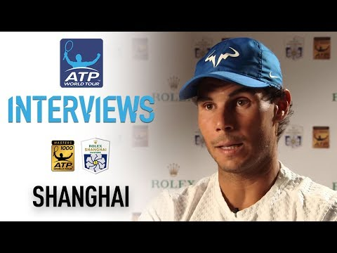 Nadal Reacts To SF Victory In Shanghai 2017