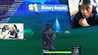 REACTING TO THE #1 BEST FORTNITE PLAYER! (NINJA INSANE FORTNITE CLIPS)