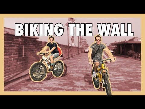 BIKING ON THE ANCIENT WALL | Gay Travel in China