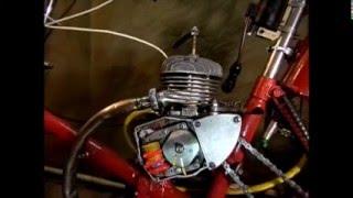 Точная установка зажигания на мопеде (мотоцикле).