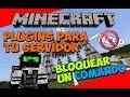 Minecraft: Plugins para tu Servidor - Como Bloquear un Comando (MyCommand)