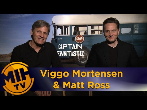 Viggo Mortensen & Matt Ross Interview Captain Fantastic