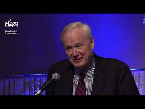Chris Matthews, Annual Communication and Insight Committee Forum at George Mason University