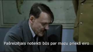 Hitlers uzzina, ka Latvijā ieviests eiro