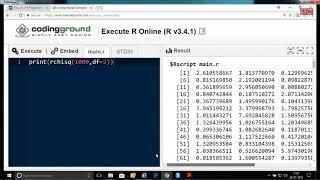 Statistics using R Programming 20-07-2018