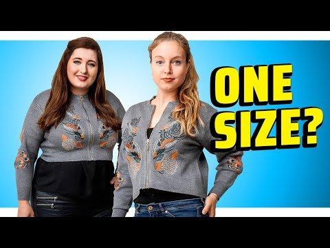 Frauen testen ONE SIZE FITS ALL