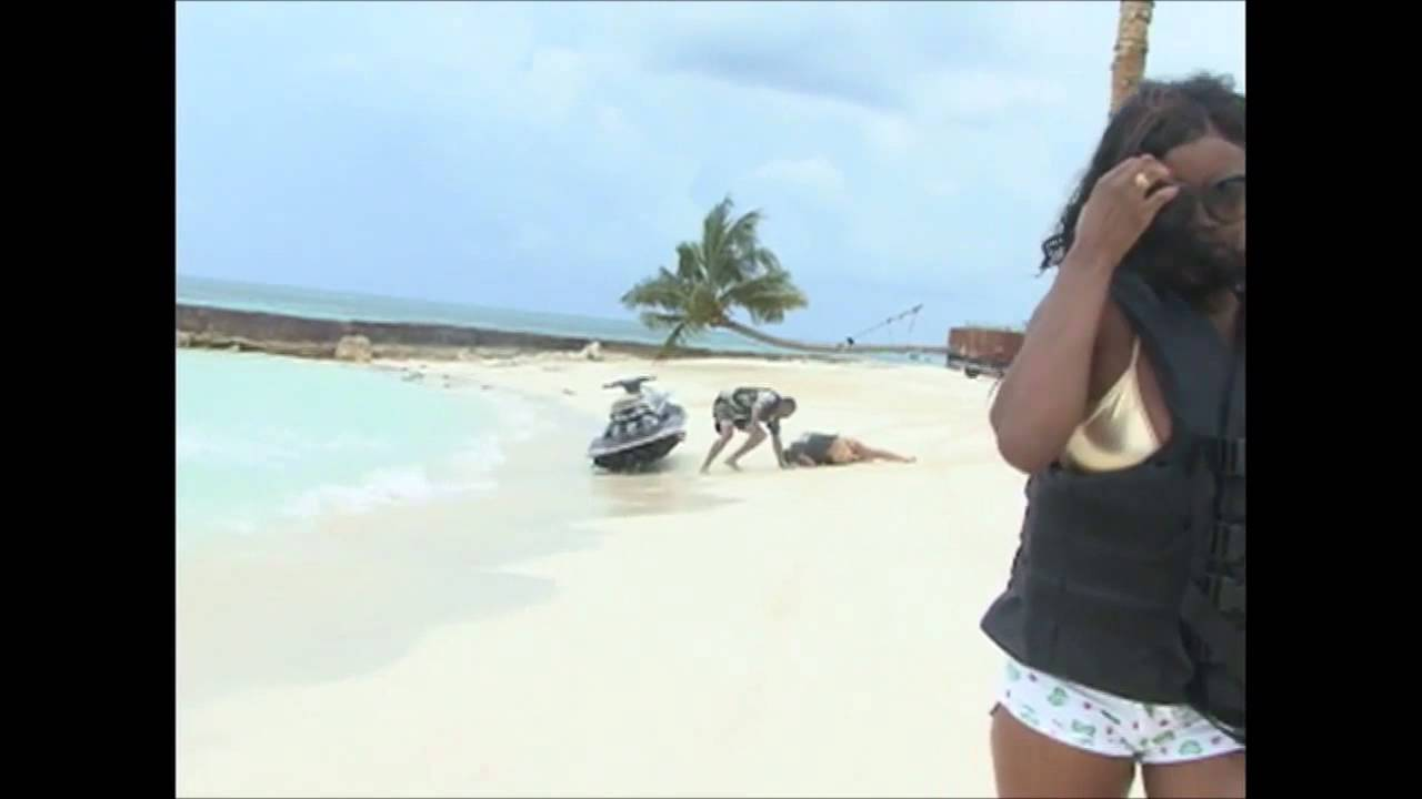 jet ski crash bahamas - raw hd video - youtube
