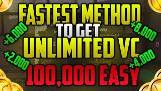 NBA 2K17 *NEW* FASTEST UNLIMITED VC METHOD!! BEST UNLIMITED VC GLITCH!! 100,000 VC EASY!! PATCH 7!