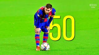 Lionel Messi - All 50 Free Kick Goals for Barcelona