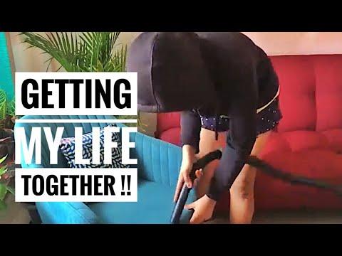 Getting My Life Together|LAUNDRY👗, DISHES🥣 Etc|Akanksha Dubey
