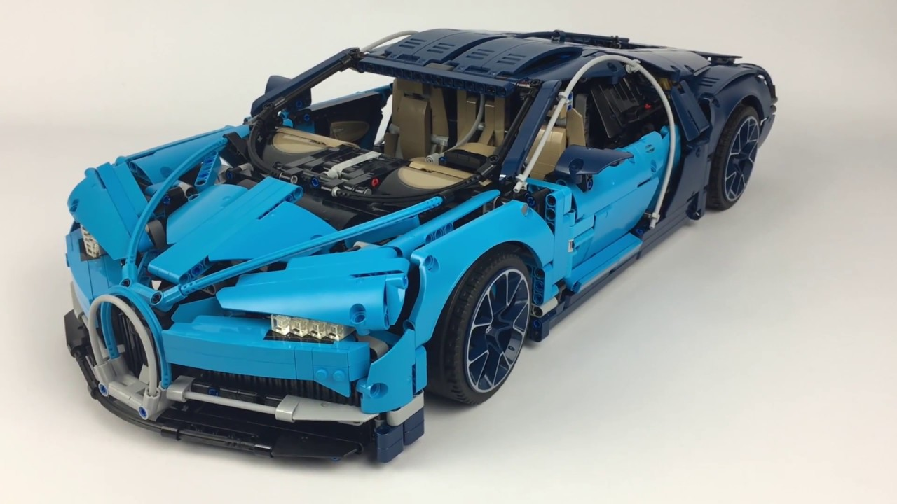 lego technic bugatti chiron 42083 im review youtube. Black Bedroom Furniture Sets. Home Design Ideas