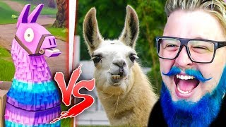 FORTNITE vs REAL LIFE-IMPOSSIBLE NOT to LAUGH