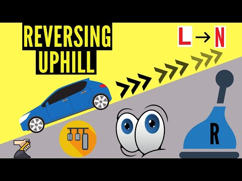 How to Reverse a Car Uphill - YouTube