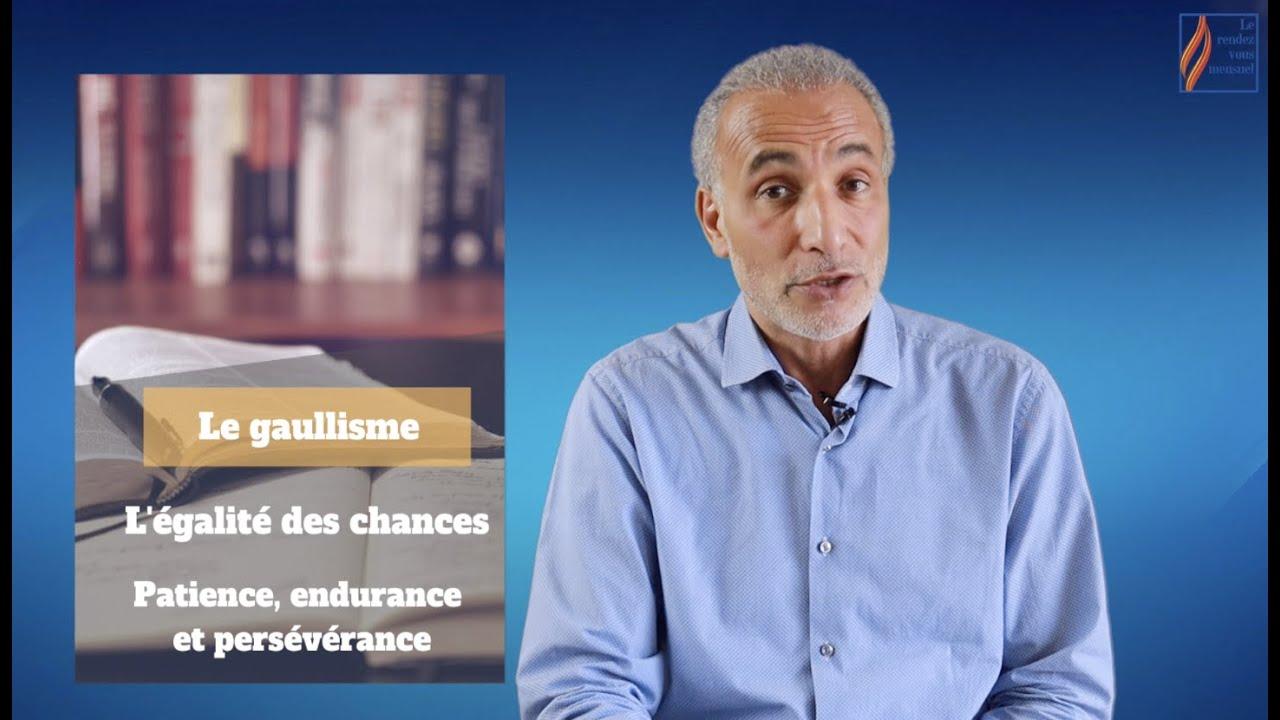 Rendez-vous mensuel #3 : Le gaullisme, l'égalité des chances et la patience