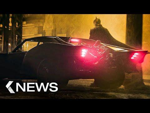 The Batman: Batmobil Reveal, Uncharted Cast, She-Hulk... KinoCheck News