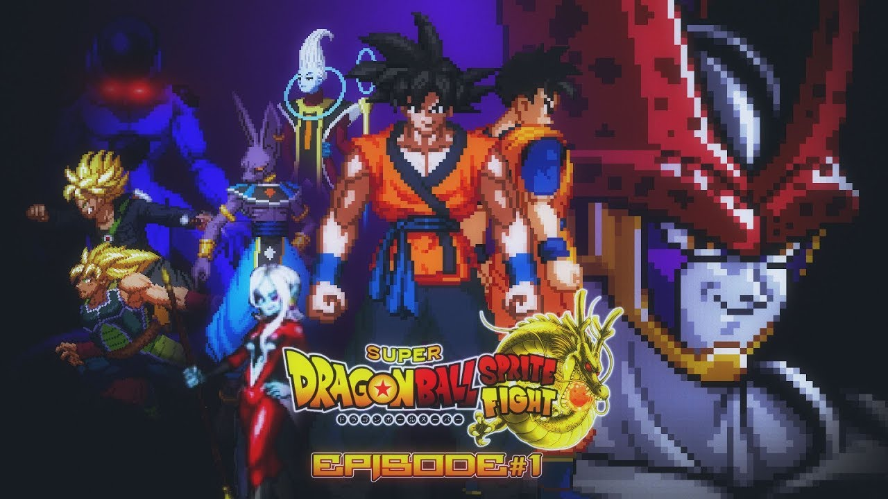 Super Dragonball Sprite Fight Wrath Of Cell 13 Youtube