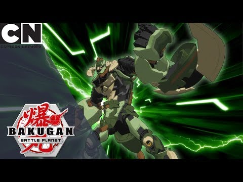 Bakugan: Battle Planet | The Awesome Ones Vs Maxotaur | Cartoon Network UK