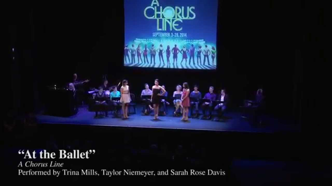 A chorus line with mara davi begins at marriott theatre - Spotlight Night A Chorus Line At The Ballet