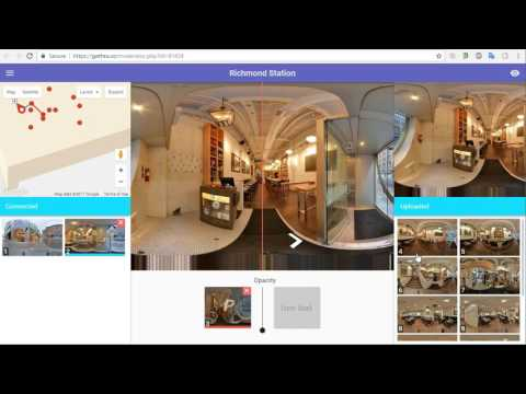How To Publish On Street View A Tour Moderated With GoThru Street View Editor