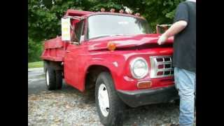 My 1968 International Harvester 1300 1 ton dump truck