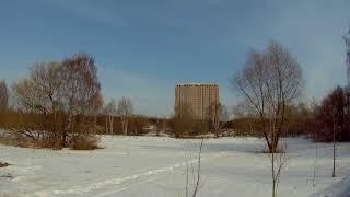 🌞Весенний таймлапс//весна//тает//лёд//снег//тепло//