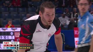 Epping (ON) vs. Fournier (QC) - 2018 Tim Hortons Brier - Draw 5