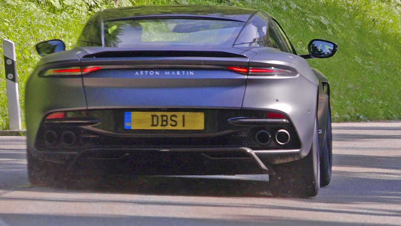aston martin dbs superleggera (2019) ferrari 812 superfast killer