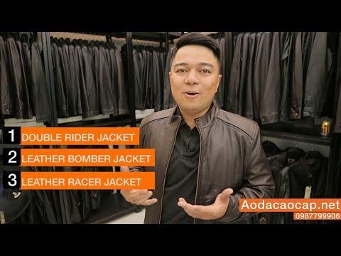 3 Mẫu áo Da Nam đẹp Cho Giới Trẻ 2018 - FTT LEATHER