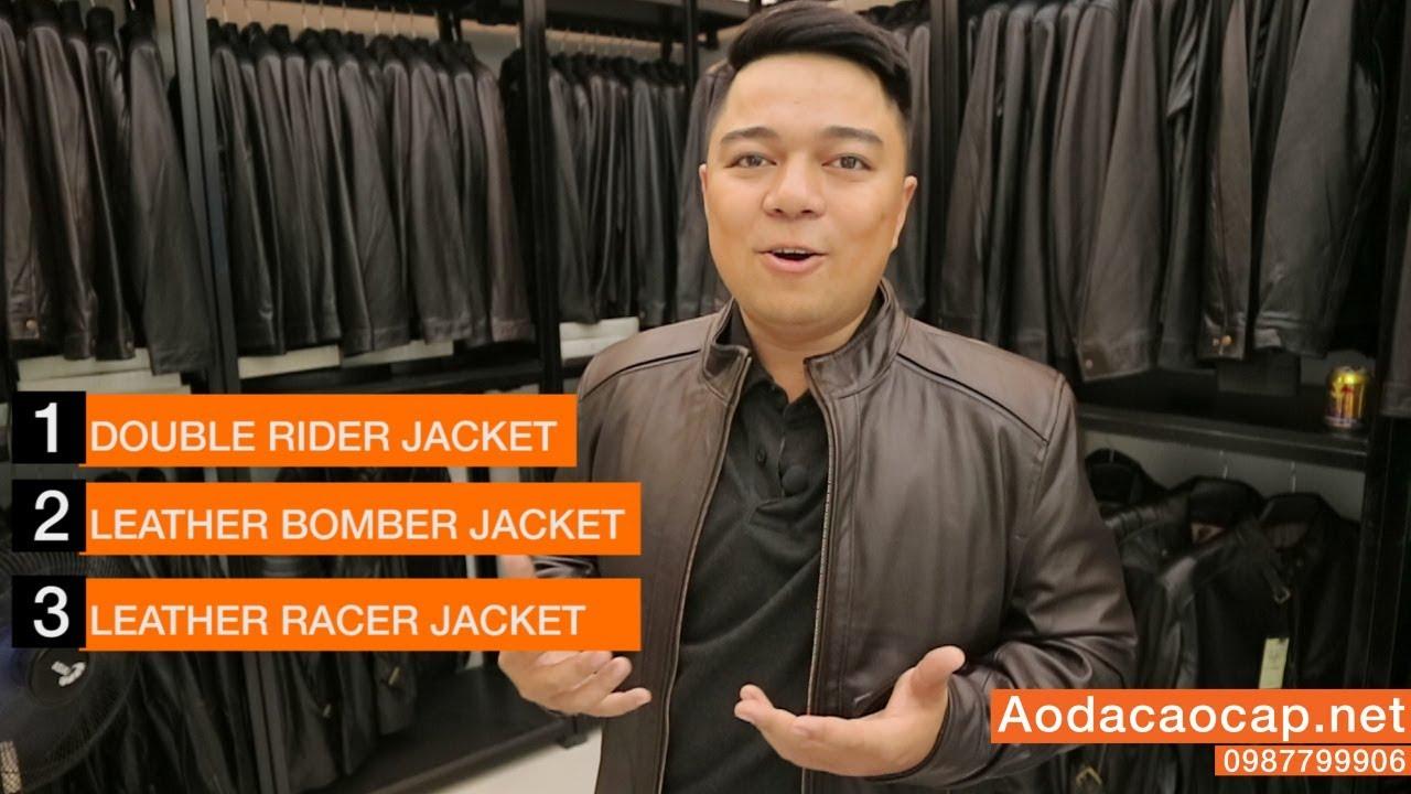 3 Mẫu áo da nam đẹp cho giới trẻ 2018 – FTT LEATHER