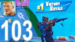 Fortnite - Gameplay Walkthrough Part 103 - Solo Win (iOS)