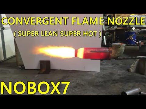 Waste Oil Burner Convergent Nozzles