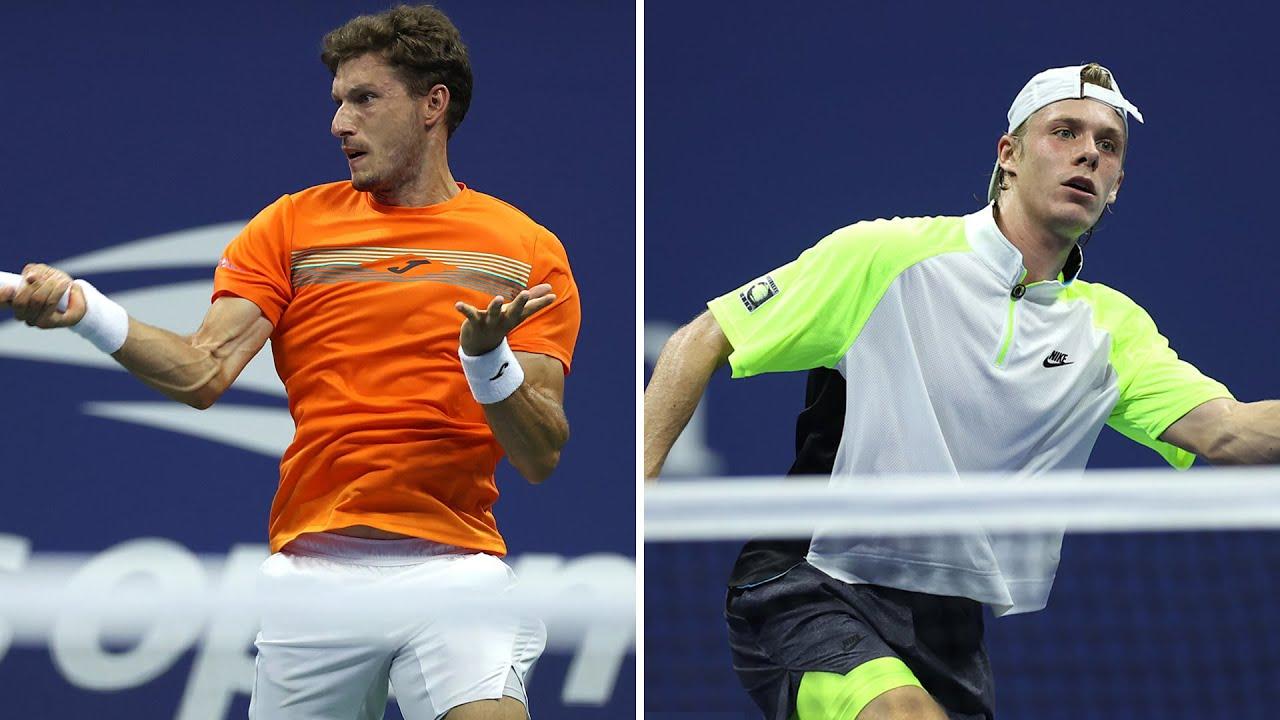 Pablo Carreno Busta vs Denis Shapovalov Extended Highlights | US Open 2020 Quarterfinal