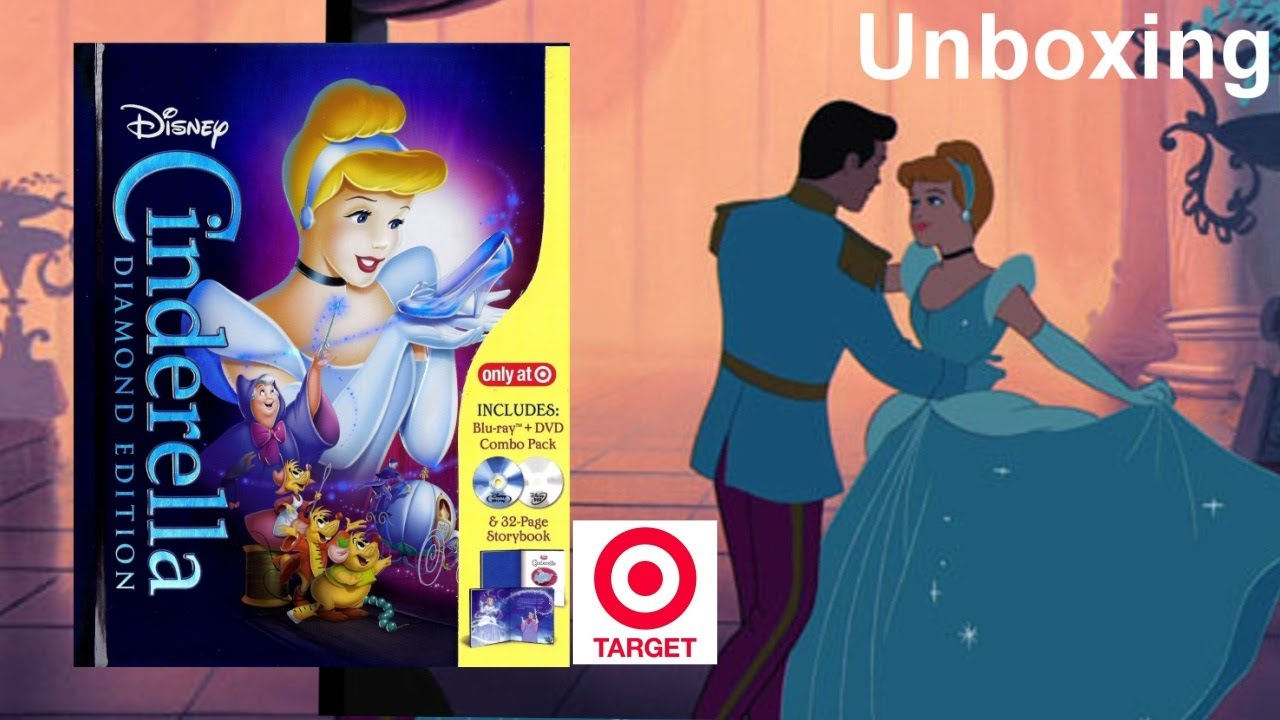 Download Cinderella Blu-ray Target Exclusive DigiBook Unboxing - (1950) - Diamond Edition