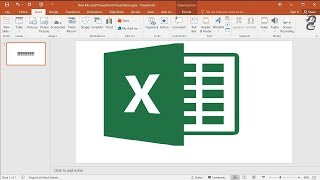 How to Link Excel worksheet to PowerPoint: Insert Excel data in PowerPoint