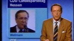 Fragment Heute Nachrichten 23.01.1988 ZDF 22 Uhr Siegfried Andrich