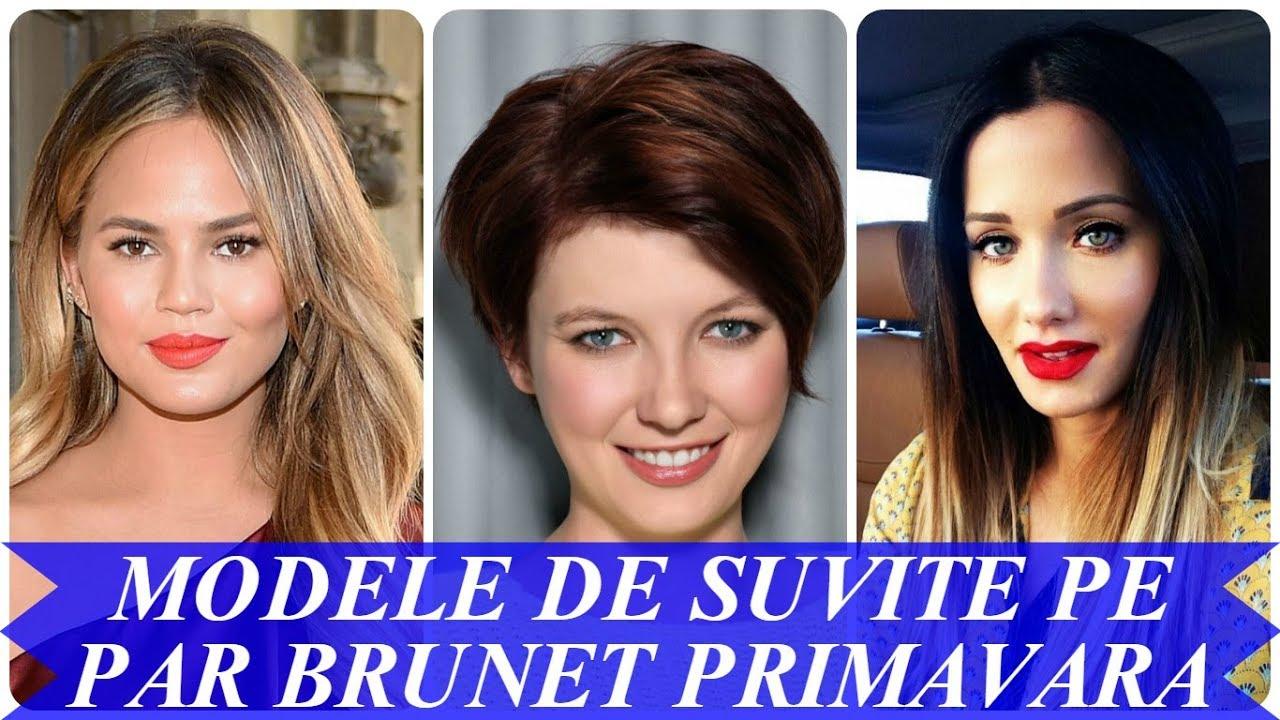Modele De Suvite Pe Par Brunet Primavara 2018 Youtube