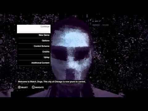 Watch Dogs Main Menu Theme Song [HD]