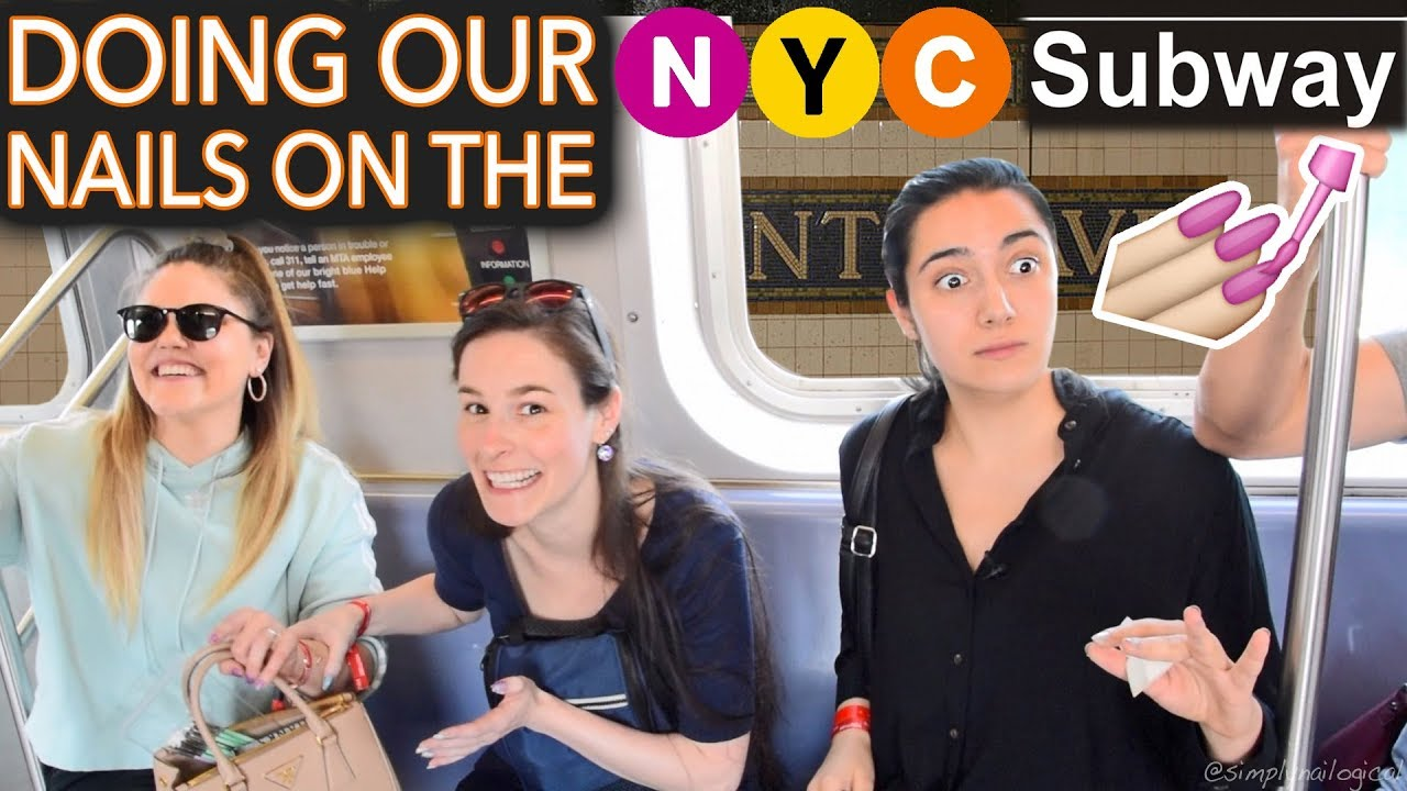 painting-our-nails-on-the-nyc-subway-ft-safiya-threadbanger-expert-level