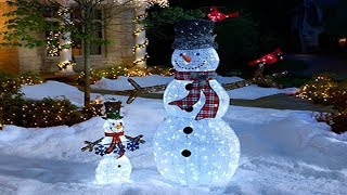 2017 Winter Outside Decoration Ideas