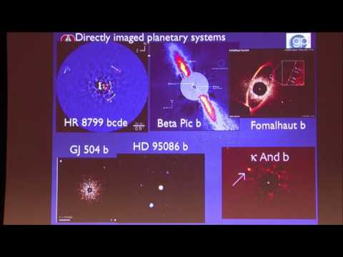 Direct Imaging of Extrasolar Planets and the Gemini Planet Imager - Bruce Macintosh