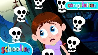 Beware Of Dark | Nursery Rhymes For Toddler Fun Videos For Children | Schoolies